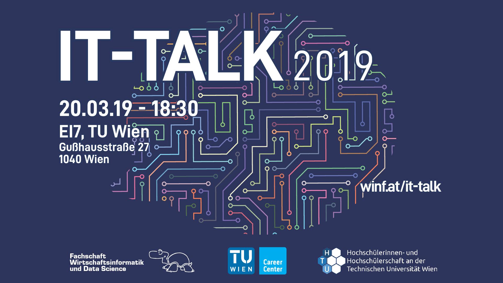 IT-Talk 2019 Banner